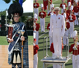 """Devin began his Drum Major career in Lake Arrowhead, at Rim of the World High School. Successfully auditioning his freshman year, Devin was Assistant Drum Major both his sophomore and junior years. During these years Devin began the process of developing his skills to the highest possible level with study, and individual competitions. By his senior year, Devin served as Head Drum Major for his high school, competing individually, at SCSBOA-sanctioned parades, and at several Western United States Pipe Band Association competitions. Additionally, Devin was asked to lead the band as """"acting band director"""", a title handed to him by school administration, as the departure and hiring of directors left the group in a temporary limbo. While participating in these events and leading his group with pride, Devin became the highest awarded drum major at Rim of the World High in recent memory. While in high school, Devin also was a three-time member of the Tournament of Roses Honor Band. This experience led him to attend Pasadena City College after graduating. Devin is in his second year as a Music Education Major at Pasadena City College. While at PCC he has been an active member of the Lancer Marching Band, the PCC Symphony Orchestra and the Tournament of Roses Honor Band. For the 2017-2018 year, Devin earned the position of Drum Major for both the PCC Lancer Marching Band and the 2018 Tournament of Roses Honor Band. Devin was an active competitor in scholastic Drum Major competition circuits for three years, and currently competes in Western United States Pipe Band Association Drum Major competitions. Having competed over fifty times, Devin has won many awards and has gained great experience in the art of Drum Majoring. Devin is currently an active drum major and marching band instructor around Southern California. This experience has encouraged him to improve his teaching and instructing to the best of his ability. He has a true commitment and passion to drum majoring and th"""
