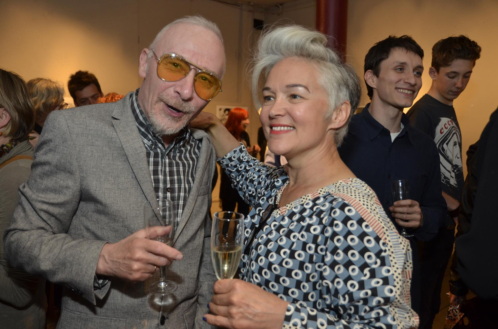 Keren, Graham Parker and Tom