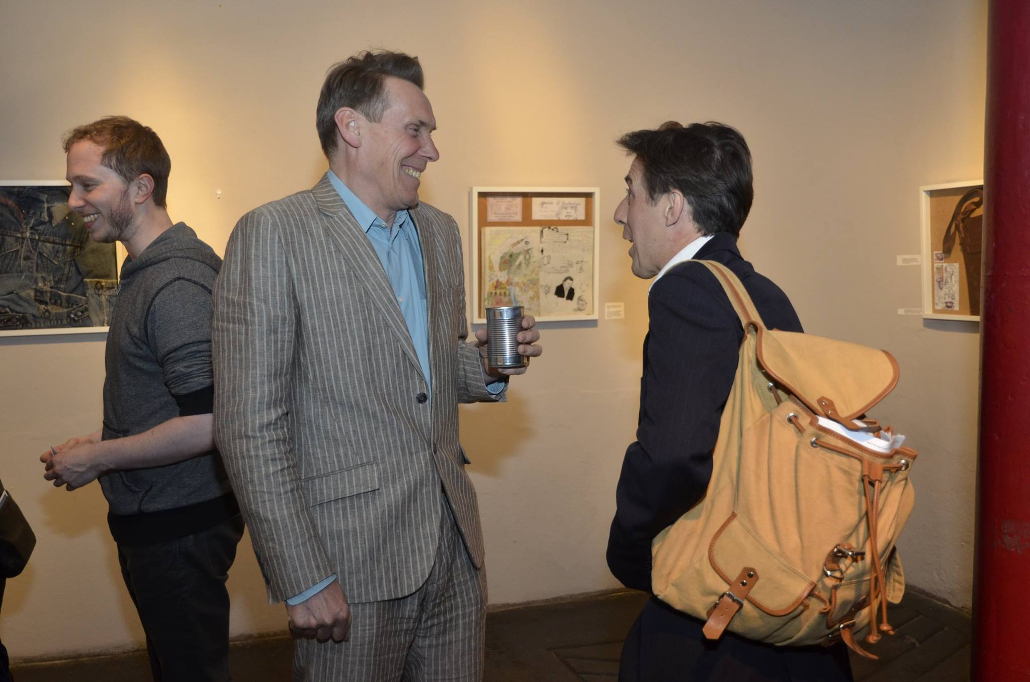 William and  Paul Bigley in conversation