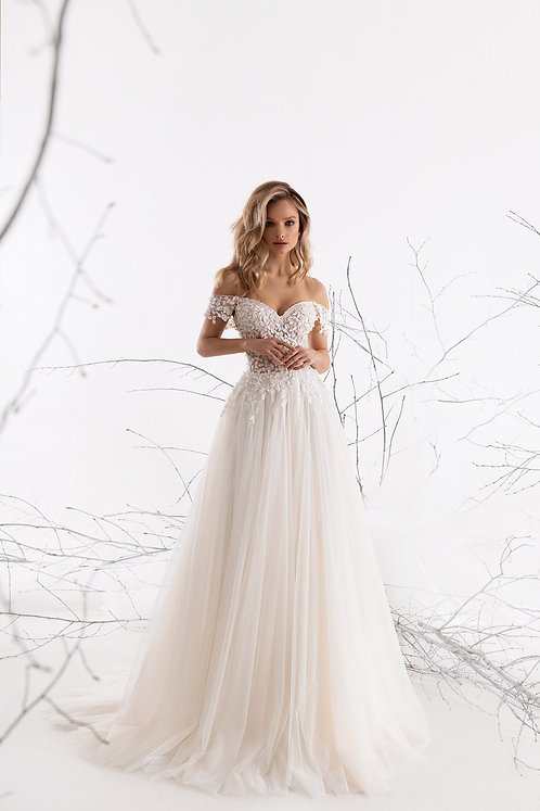 Νυφικό Φόρεμα Freya