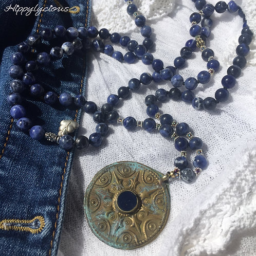 Slow the Pace, Receive the Grace (sodalite)