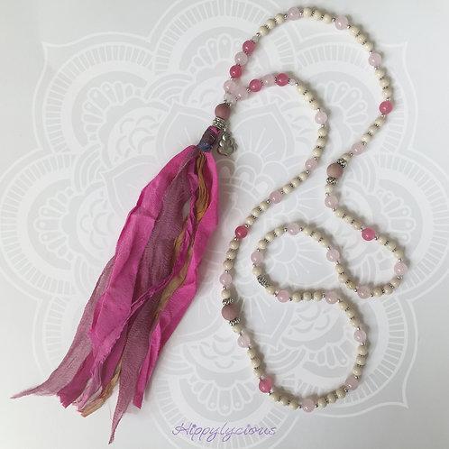 Goddess - Rose Quartz, Pink Jade, Rhodochrosite