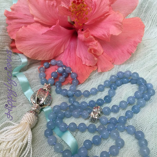 Welcome the Nourishing Waters Mala! Just as we could never grow gorgeous flowers like this stunning