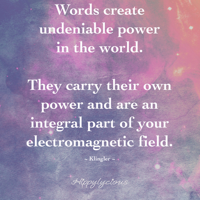 Words Are Our Magic Wands