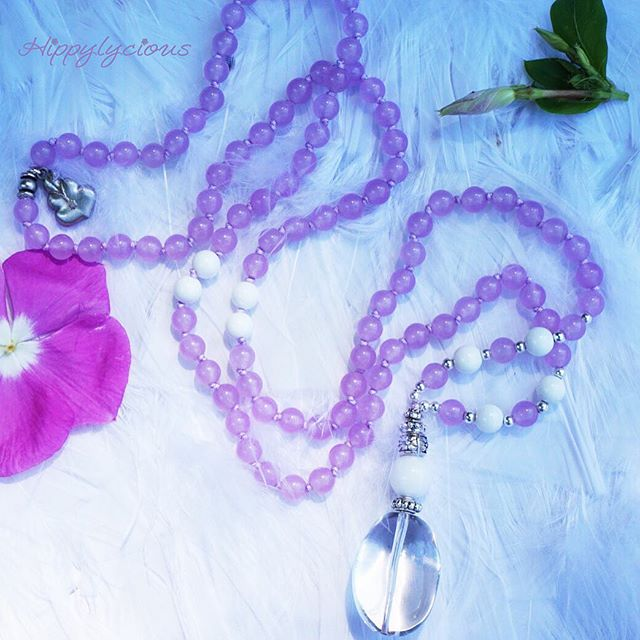This Dancing In the Light Mala is for a sweet girl who brings joy and love to everyone she knows, wh