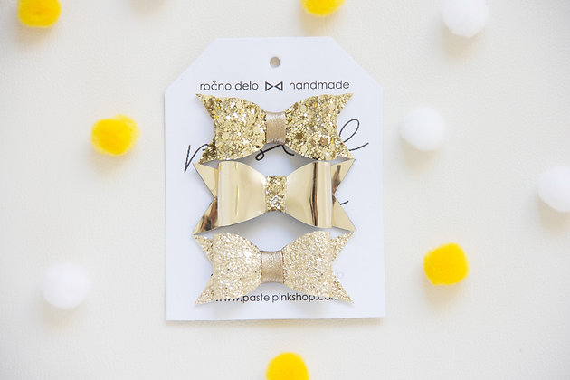 ŠPANGICE - bleščeča zlata, mirror zlata, metalik zlata