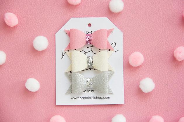 ŠPANGICE - roza, bela, srebrna