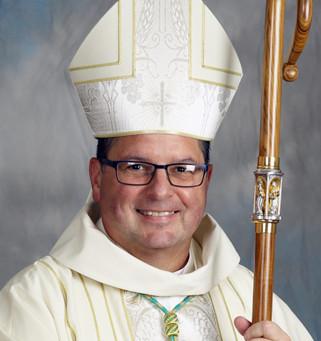 Welcome Bishop David J. Bonnar