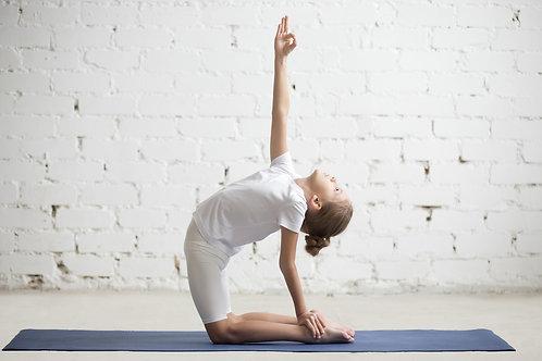 兒童伸展瑜伽 (6-10歲)