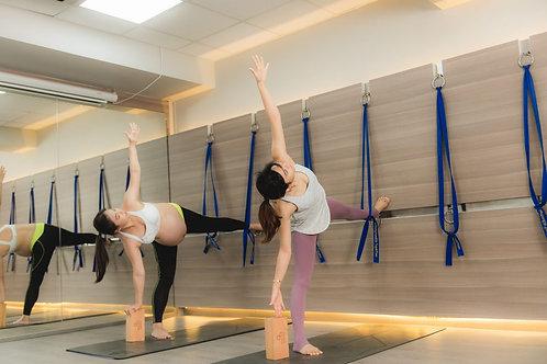 孕期牆瑜伽