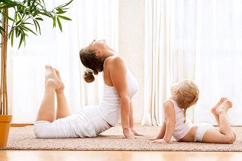 親子瑜伽 (2-8歲)