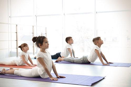小童靜心瑜伽 (4-9歲)