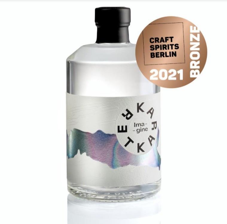 Imagine dry gin Destilarna Karakter bronasta nagrada na tekmovanju Craft Spirits Berlin