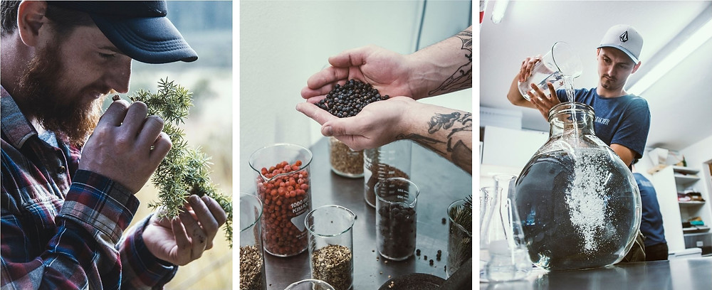 Handcrafted gin - what does from grain to glass mean? The depiction of the whole process.