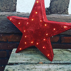 étoile lumineuse noel carton.JPG