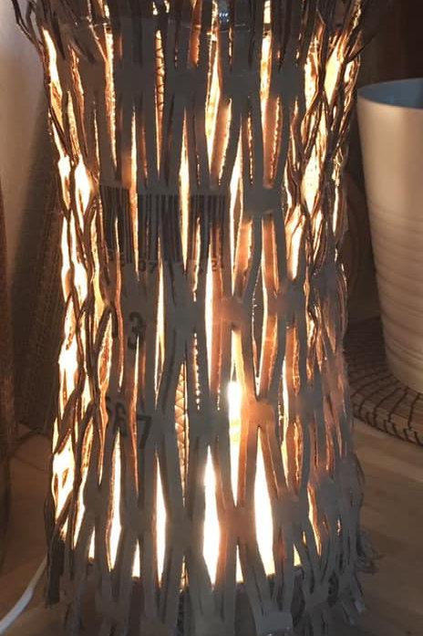 lampe à poser aboudabi