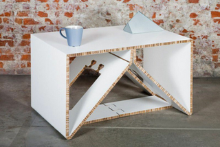 table basse basique carton