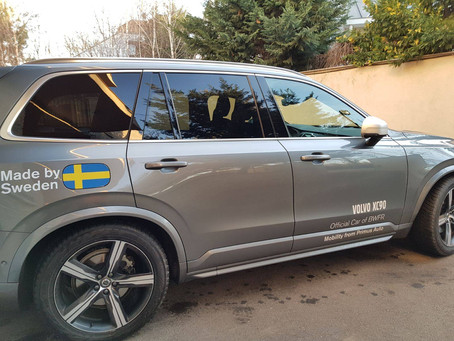 BWFR signs a new partnership collaboration with VOLVO CARS ROMANIA