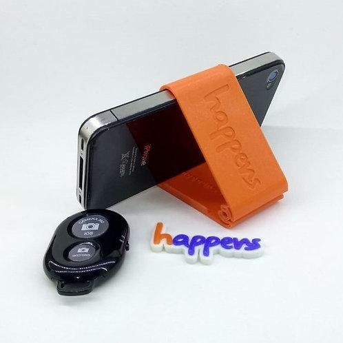 Suporte de celular com controle remoto
