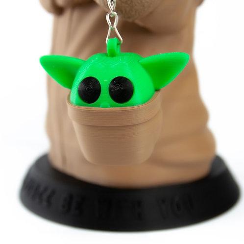 Baby Yoda Chaveiro - Grogu Star Wars