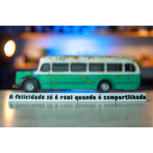 Miniatura Ônibus - Magic Bus - Filme Na Natureza Selvagem - Into the wild