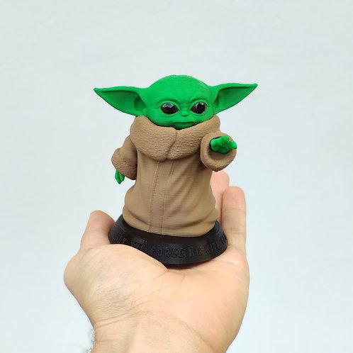 Boneco Baby Yoda - Pequeno