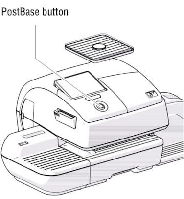 Activate the digital franking machine