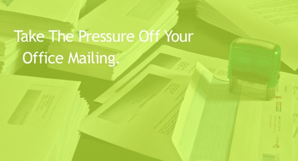 Take The Pressure Off Your Office Mailing with A Pressure Sealer.