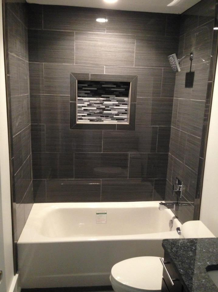 12 x 24 Porcelain Tile Tub Surround