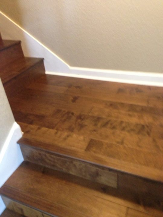 Glue Down Hardwood Flooring Stairs