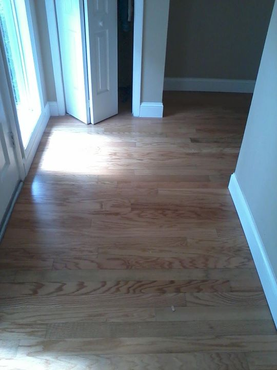 Water Damaged Wood Flooring