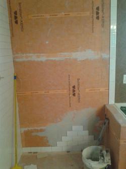 Subway Tile Shower Install