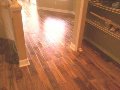 Handscraped Hardwood Flooring