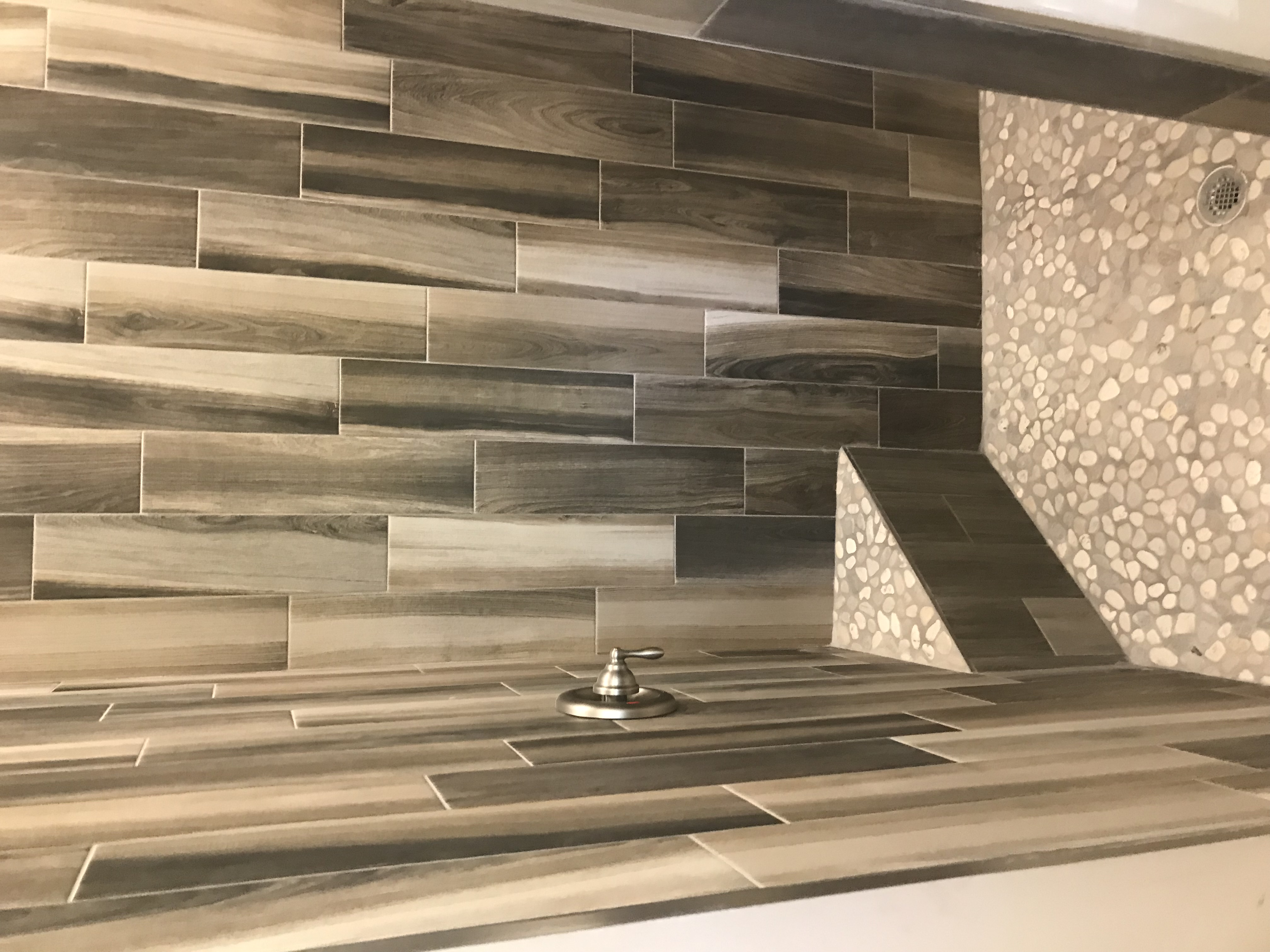 Plank Tile Shower