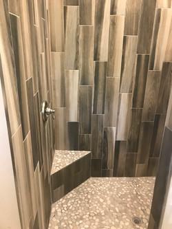 Plank Tile Shower