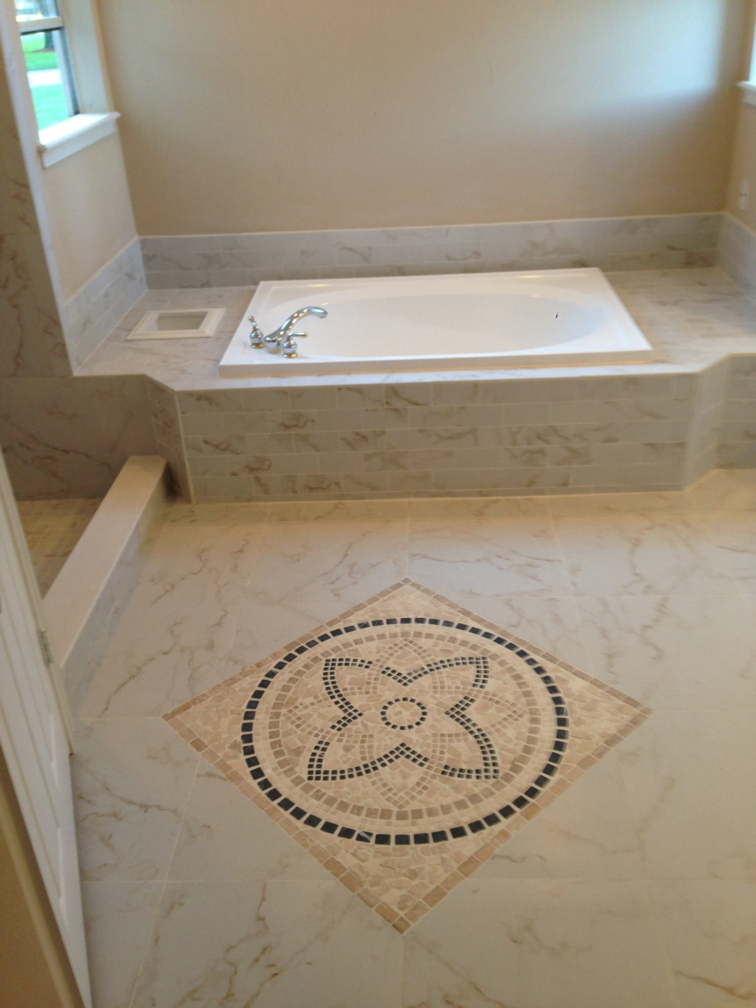 Stone Master Bathroom