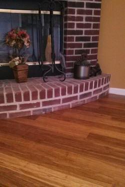 Undercut Fireplace