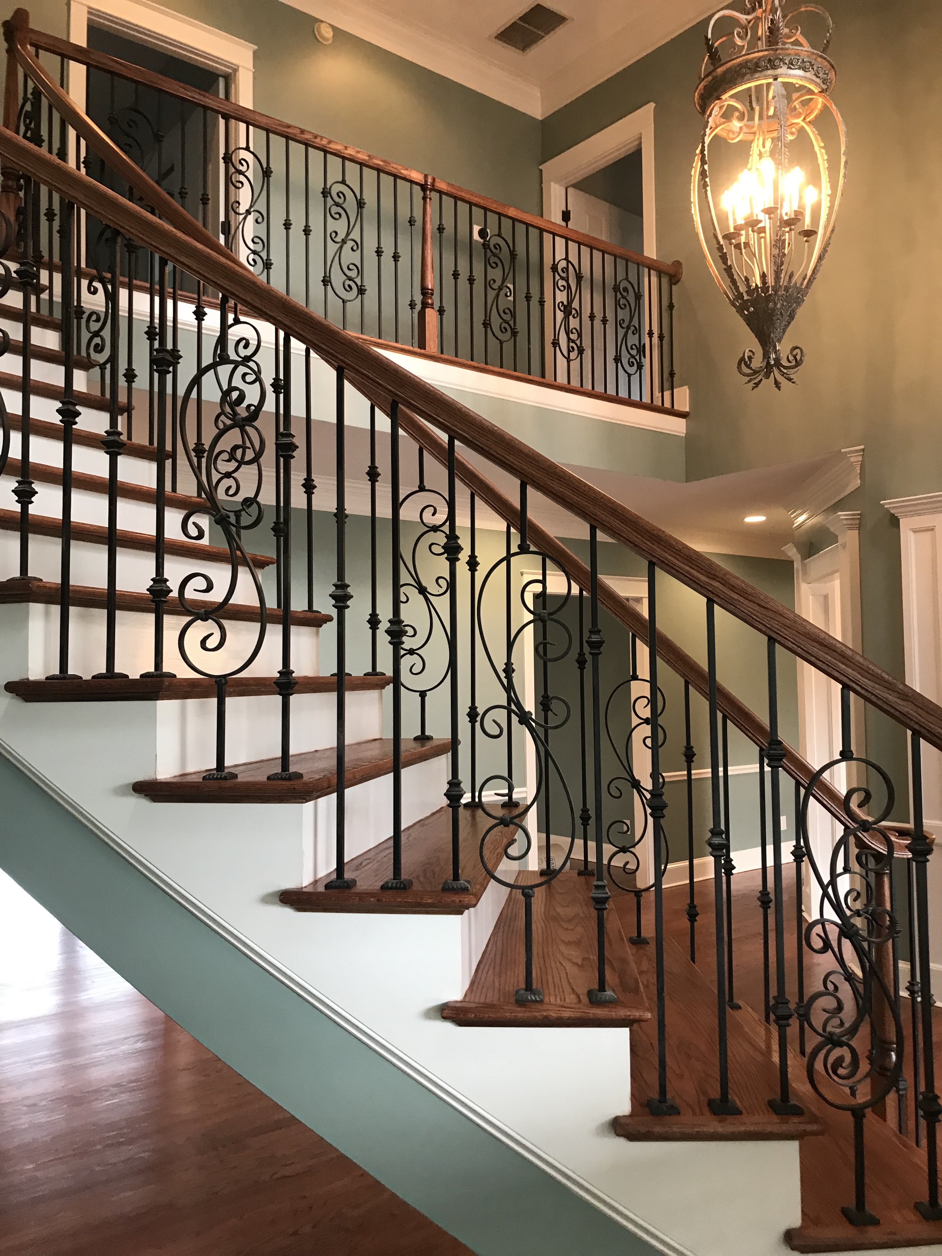 Custom Wood Staircase