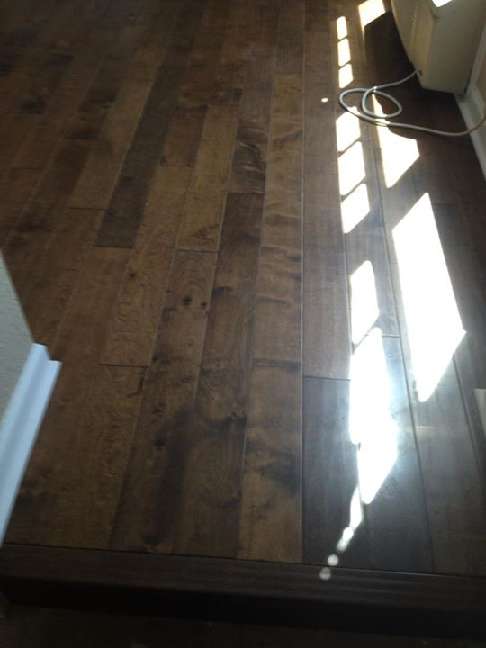 Glue Down Hardwood Flooring