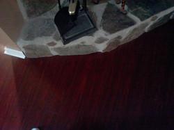 Undercut Fireplace With Laminate