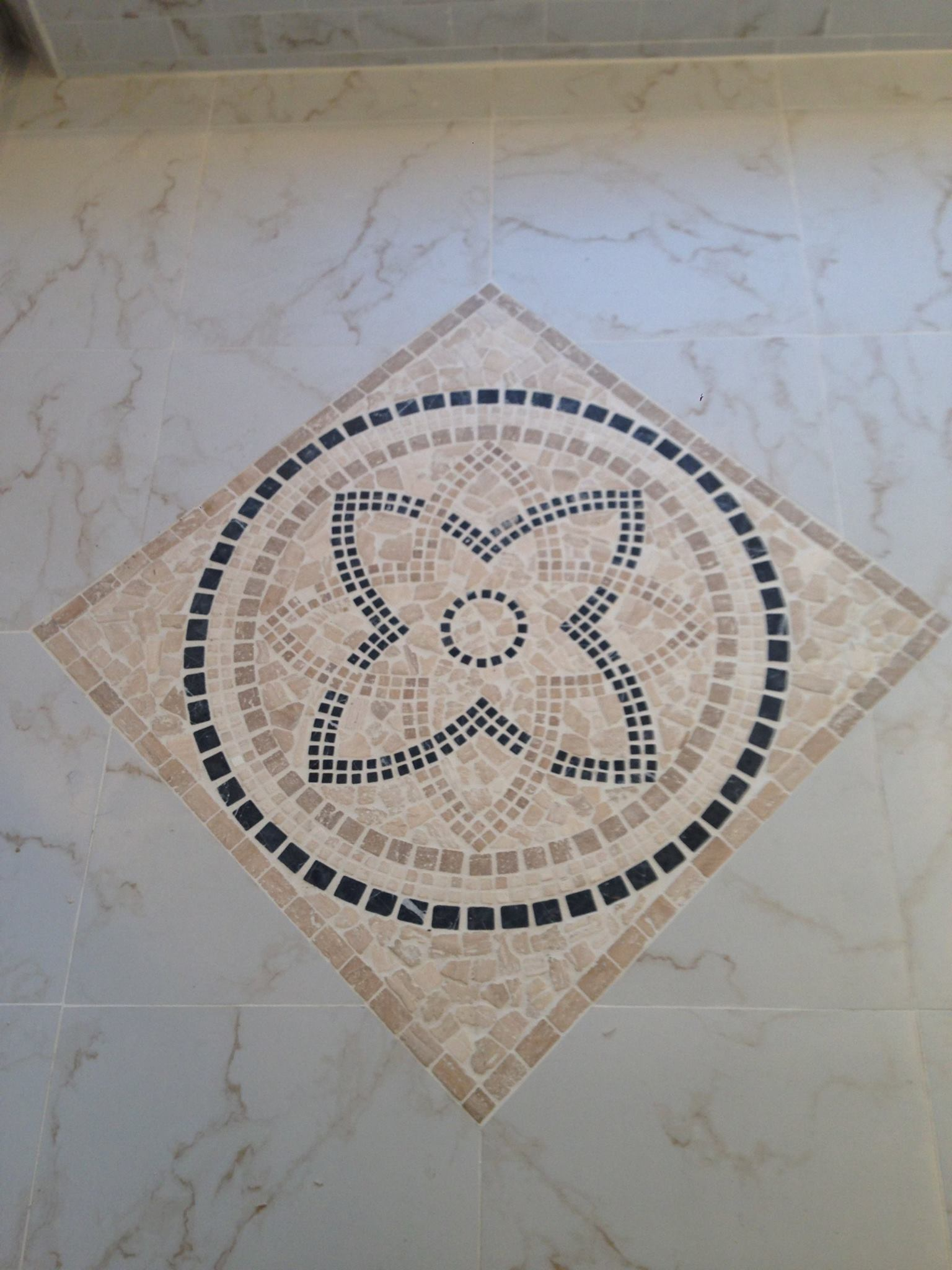 Stone Medallion Inlay