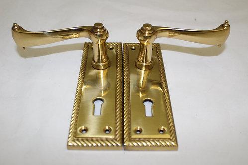 Georgian lever door handle - G11