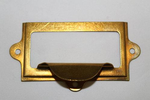 Brass cardholder - E17
