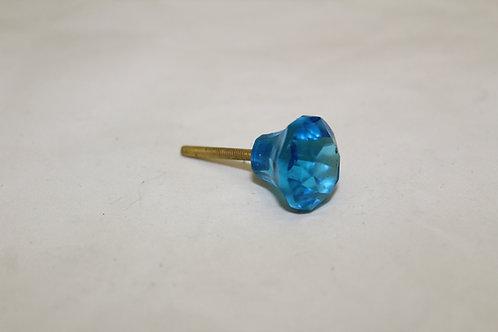 Blue  Cabinet Knob - C20