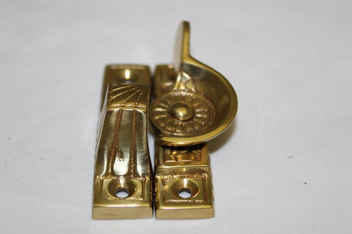 Elegant Solid Brass Window Lock - K3
