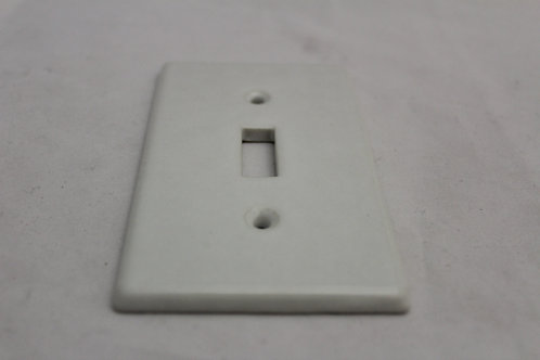 Porcelain light switch plate - J26