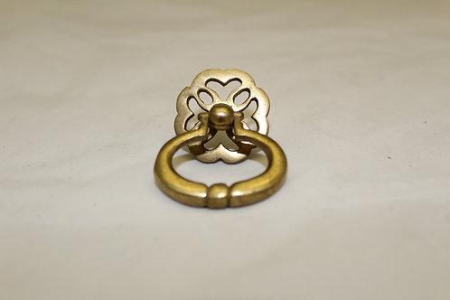 Brass Cabinet Drop Pull - A22