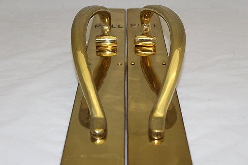 Brass Pull Door Handle - K16
