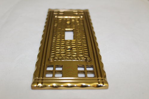 Cast brass cable plate - K2
