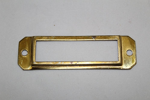 Brass cardholder - E21